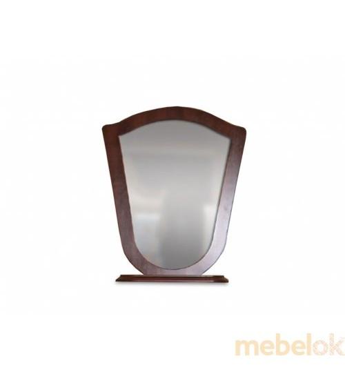 Зеркало Лира ( орех темный)